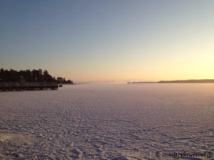 Winter in Finnland