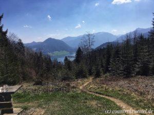 Wanderung auf die Huberspitzalm
