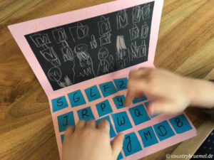 Computer aus Pappe