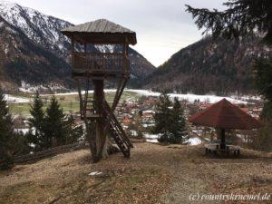Männleinweg in Bayrischzell