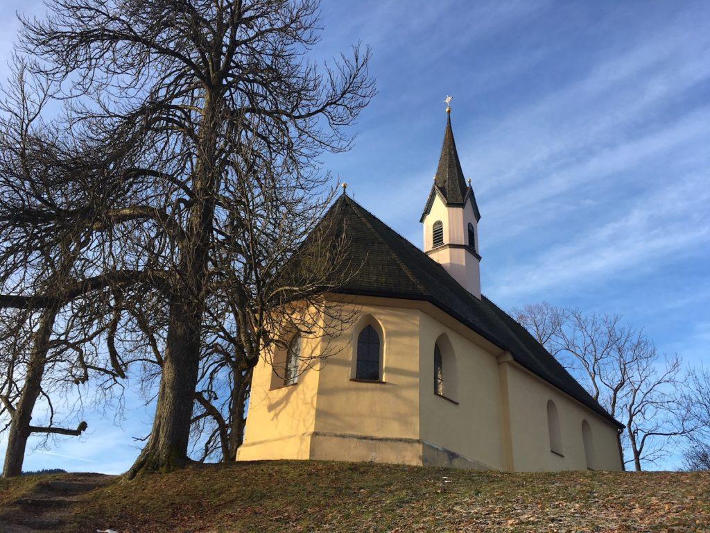 Weinberg Schliersee Kapelle